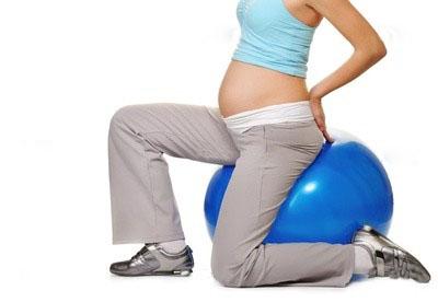 занятием спорта для беременных